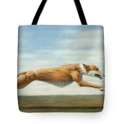 Running Free Tote Bag by James W Johnson