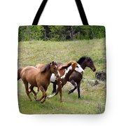 Running Free Tote Bag