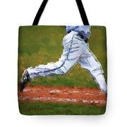 Running Hard Tote Bag