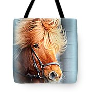 Running In The Fields, Waving My Golden Mane  Tote Bag