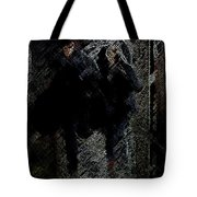 Running In The Shadows Tote Bag