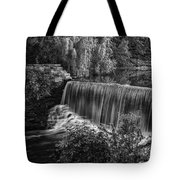 Running Over Tote Bag by CJ Schmit