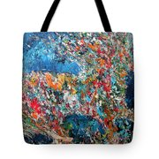 Running Stallion - Oil Portrait Tote Bag
