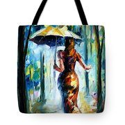 Running Towards Love - Palette Knife Oil Painting On Canvas By Leonid Afremov Tote Bag