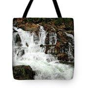 Running Water Glen Alpine Falls Tote Bag