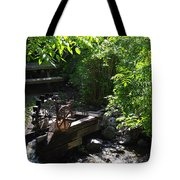 Running Water To Canyonlands Tote Bag