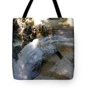 Running Waters Of Sabbaday Falls Tote Bag