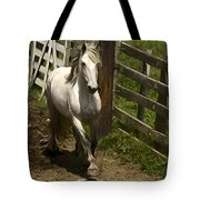 Running White Colours Tote Bag