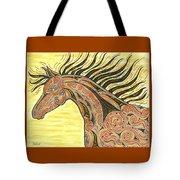 Running Wild Horse Tote Bag