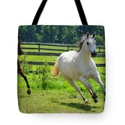 Running Wild Tote Bag by Paul Ward