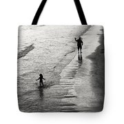 Running Wild Running Free Tote Bag by Edward Fielding