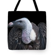 Ruppel's Griffon On Black Tote Bag