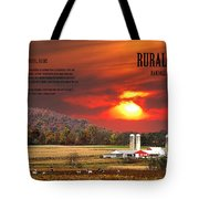 Rural Barns  My Book Cover Tote Bag