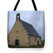 Rural Church In Brittany Tote Bag
