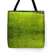 Rural Church Tote Bag
