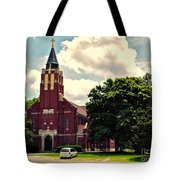 Rural Church Usa Tote Bag