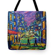 Rural City Scape By Prankearts Tote Bag
