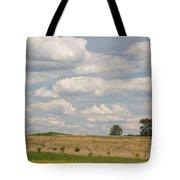 Rural Field Landscape In Maryland Tote Bag