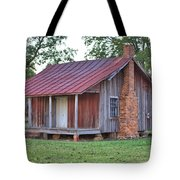 Rural Georgia Cabin Tote Bag