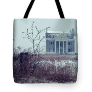 Rural Mansion Tote Bag