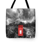 Rural Post Box Tote Bag by Mal Bray