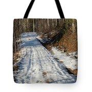 Rural Road In Eary Spring. Tote Bag