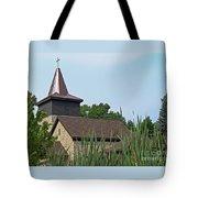 Rural Roadside Church Tote Bag