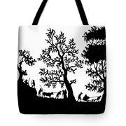 Rural Scene Tote Bag