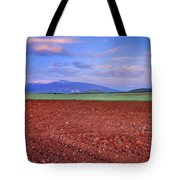 Rural Sunset Tote Bag
