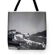 Rural Washday 1969 - Nostalgic Memories Tote Bag