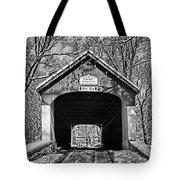 Rural Winter Tote Bag