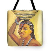 Rural Woman From Cameroon Tote Bag