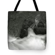 Rush Around The Rocks Tote Bag
