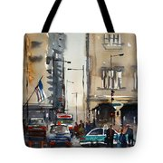 Rush Hour - Chicago Tote Bag