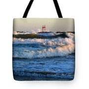 Rush Hour On Cape Cod Tote Bag