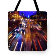 Rush Hour Traffic On North Capitol Show Tote Bag