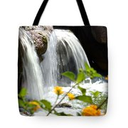 Rushing Along Tote Bag