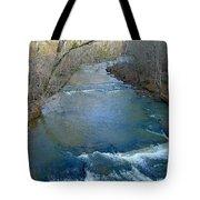 Rushing Vickery Creek Tote Bag