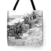 Russell Overland Stage Tote Bag