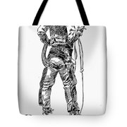 Russell The Cowboy Tote Bag