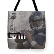 Russell Wilson Tote Bag
