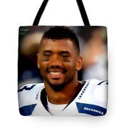 Russell Wilson Quote Tote Bag