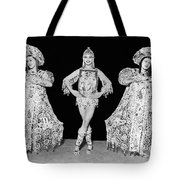 Russian Claudia Ballet Dancers Tote Bag by Underwood Archives