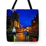 Russian Evening Tote Bag