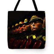 Russian Honor Guard - Featured In Men At Work Group Tote Bag