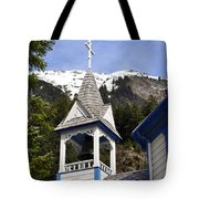 Russian Orthodox Church Bell Tower Tote Bag