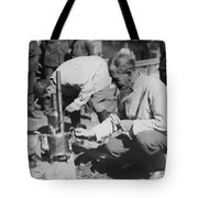 Russian Refugees Tote Bag
