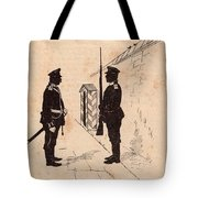 Russian Soldiers Tote Bag