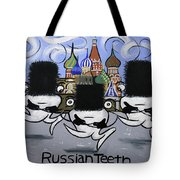 Russian Tooth Tote Bag
