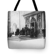 Russians Pray For Wwi Victory Tote Bag